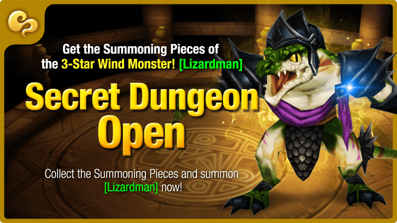 lizardman secret dungeon summoners war