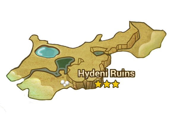 hydeni ruins drop guide