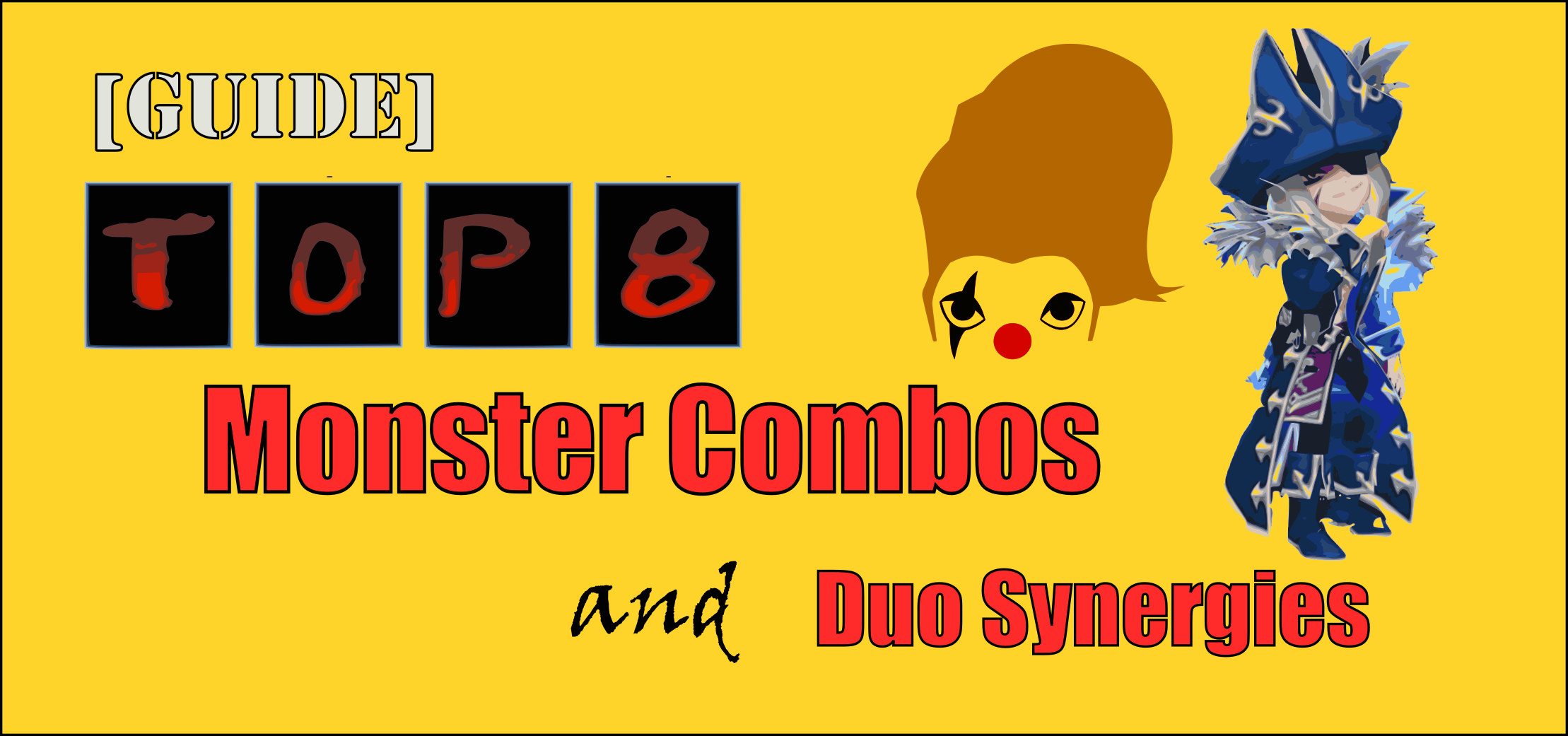 top 8 monster combos summoners war