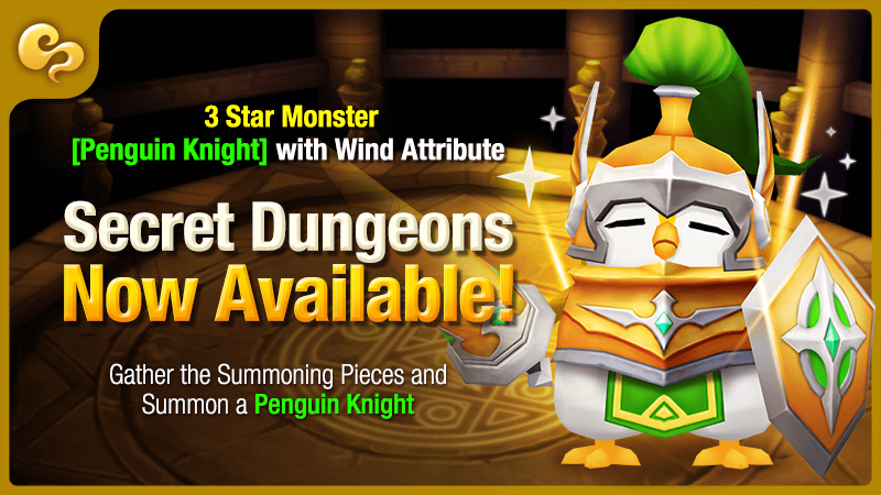 penguin knight secret dungeon summoners war