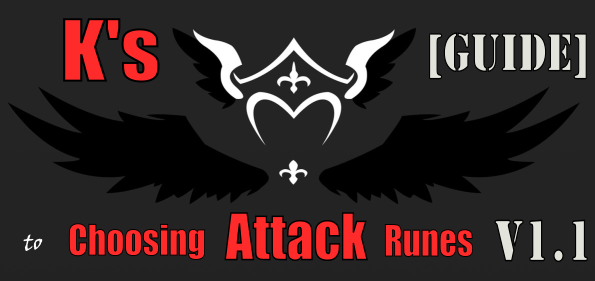 choosing attack runes summoners war
