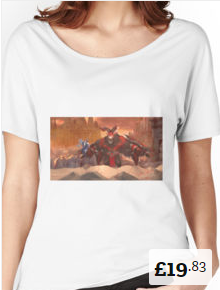 Fire Chimera Women's Relaxed Fit T-Shirt Summoners War [220x290]