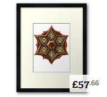 Rage Blade Framed Print Summoners War [220x200]