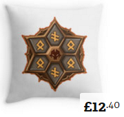 Rage Blade Throw Pillows Summoners War [180x170]