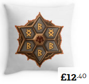 Violent Revenge Throw Pillows Summoners War [180x170]