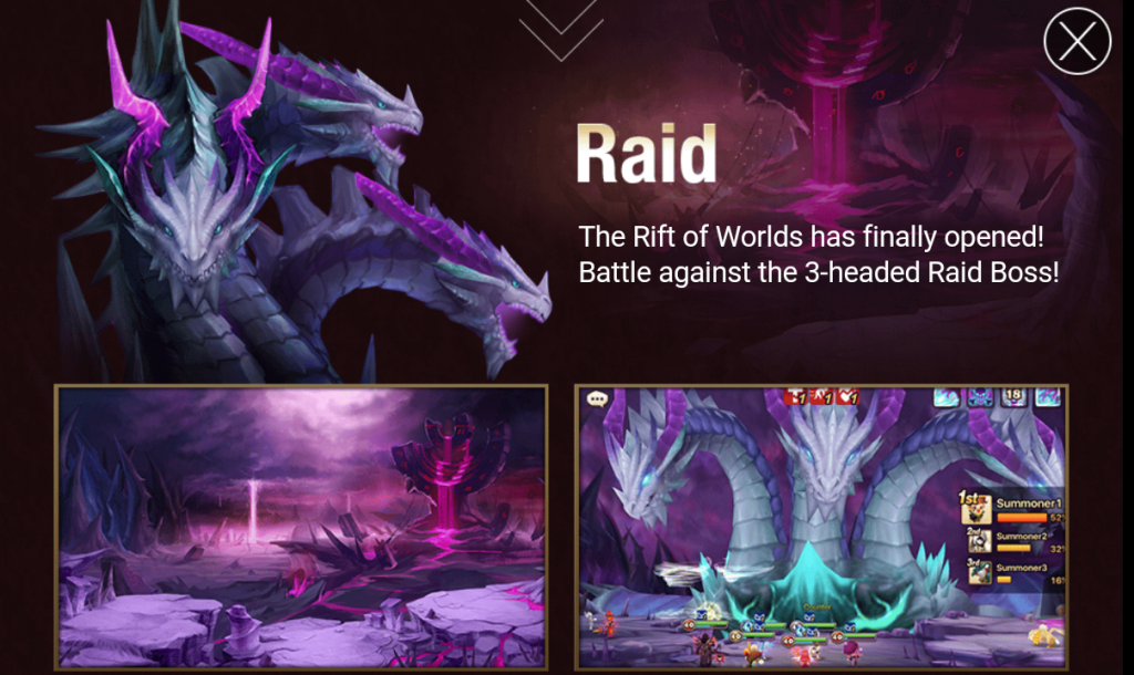 summoners war raids