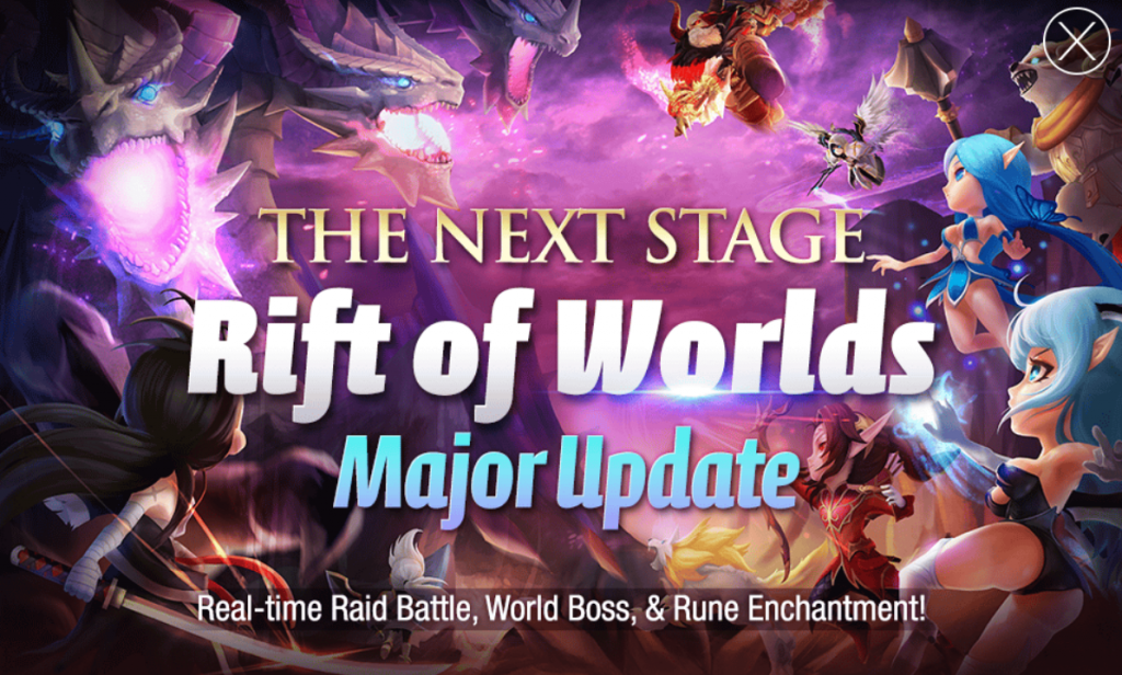 rift of worlds summoners war