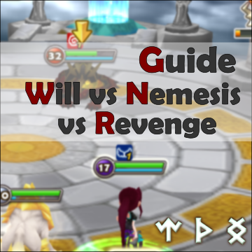 summoners war guide will nemesis revenge runes
